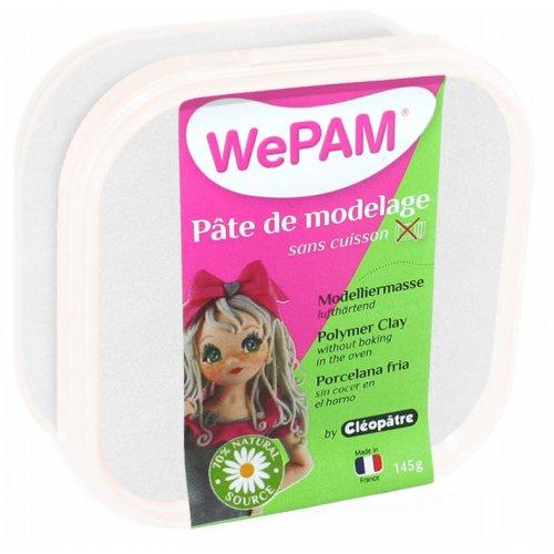 Samotvrdnoucí polymerová modelovací hmota WePAM 145g - Perleťová Bílá