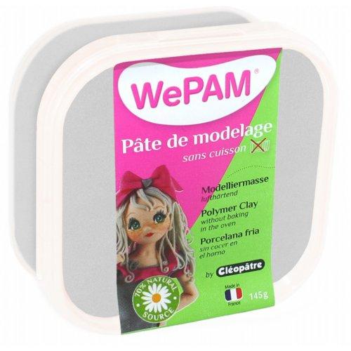 Samotvrdnoucí polymerová modelovací hmota WePAM 145g - Stříbrná
