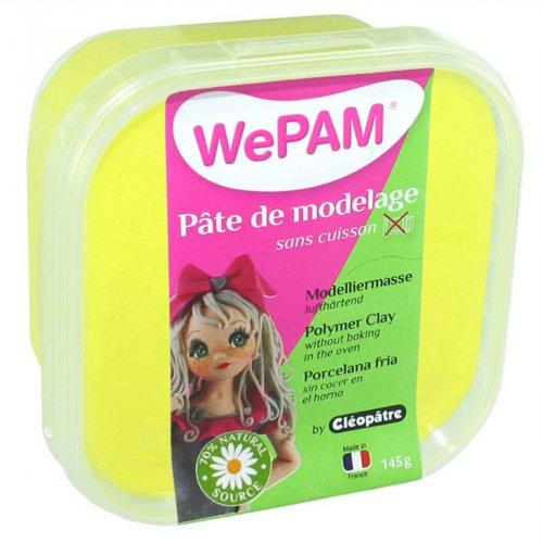 Samotvrdnoucí polymerová modelovací hmota WePAM 145g - Neonová Žlutá