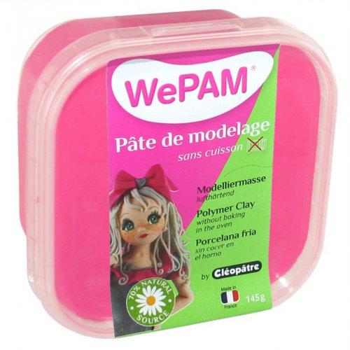 Samotvrdnoucí polymerová modelovací hmota WePAM 145g - Neonová Růžová