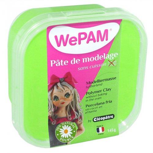 Samotvrdnoucí polymerová modelovací hmota WePAM 145 g - Neonová Zelená