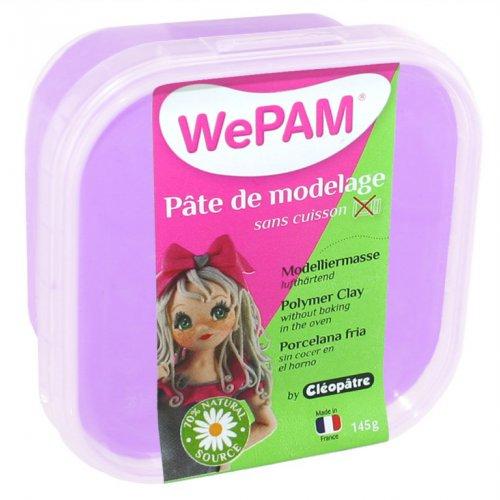 Samotvrdnoucí polymerová modelovací hmota WePAM 145 g - Levandulová