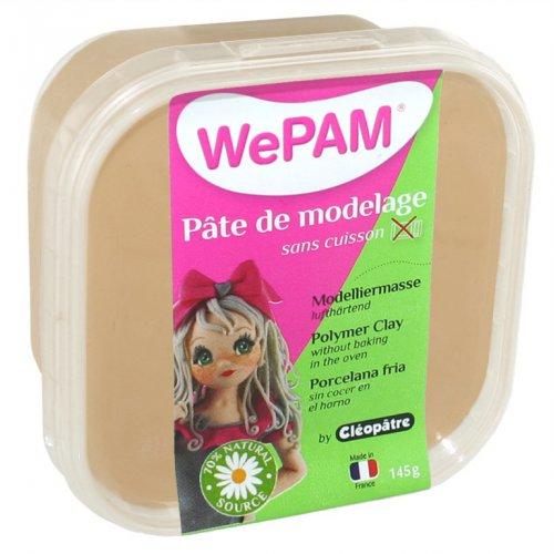Samotvrdnoucí polymerová modelovací hmota WePAM 145g - Světle hnědá