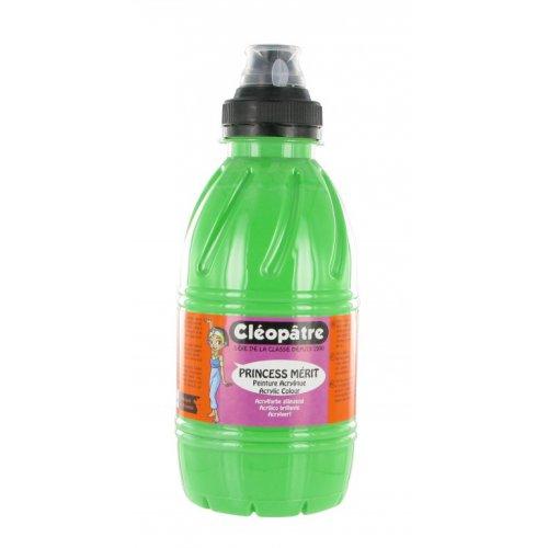 Akrylová barva PRINCESS MERIT 500 ml Zelená
