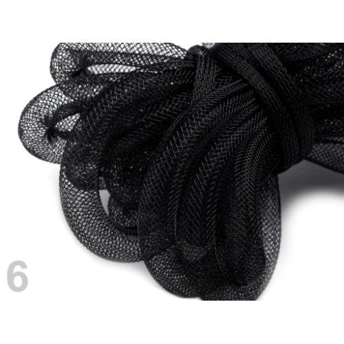 Modistická dutinka 8 mm - 6 černá (1m)