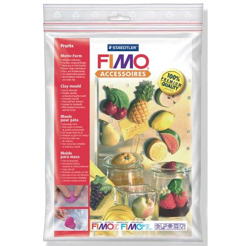 Fimo Silikonová forma - Ovoce Fruits