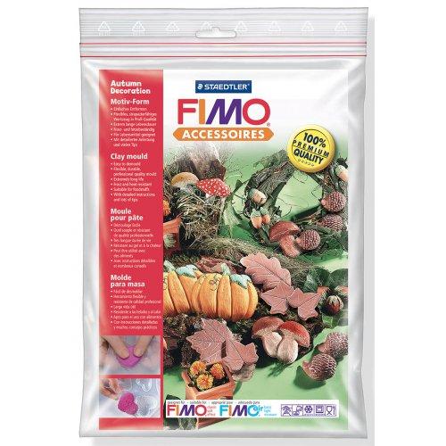 Fimo Silikonová forma - Podzimní dekorace Autumn decorations