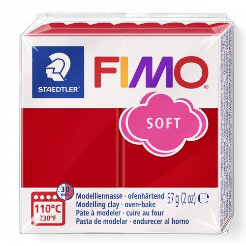 FIMO soft vánoční červená 57g