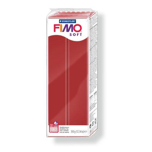 FIMO soft vánoční červená 350g