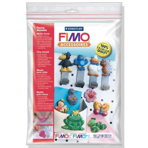 Fimo Silikonová forma - Zábavná zvířatka Funny animals
