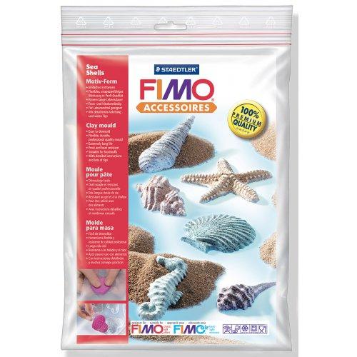 Fimo Silikonová forma - Mořské mušle Sea shells