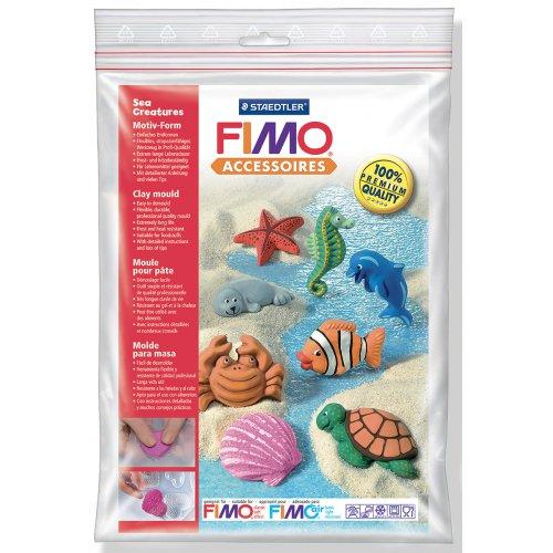 Fimo Silikonová forma - Mořští tvorové Sea creatures