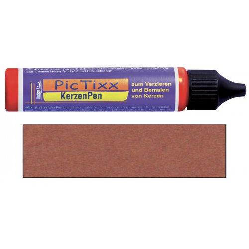 PicTixx 3D Voskové pero pro malování svíček 29 ml měděná