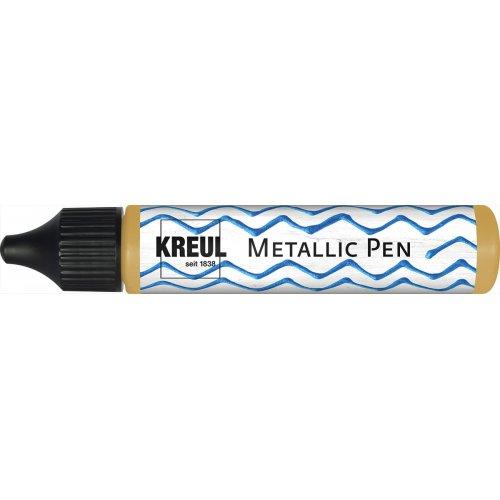 3D Metallic Pen KREUL 29  ml ZLATÁ