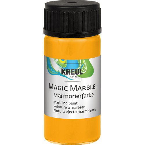 Mramorovací barva Magic Marble 20 ml sluneční žlutá