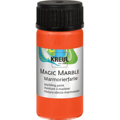 Mramorovací barva Magic Marble 20 ml oranžová