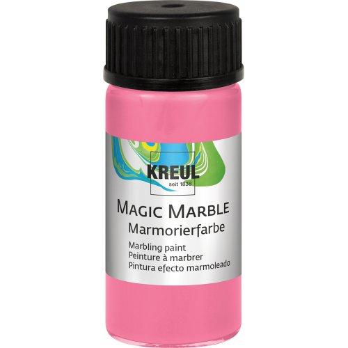 Mramorovací barva Magic Marble 20 ml růžová