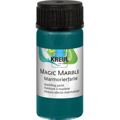 Mramorovací barva Magic Marble 20 ml tyrkysová