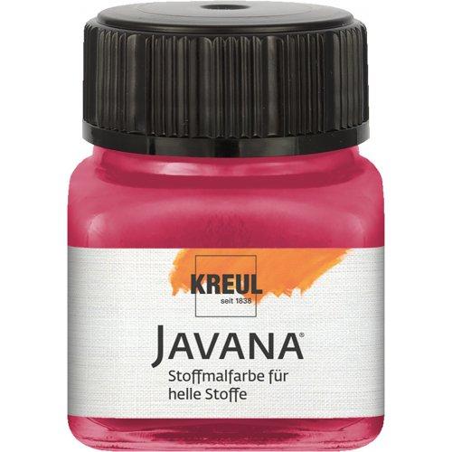Barva na světlý textil JAVANA 20 ml rubínová