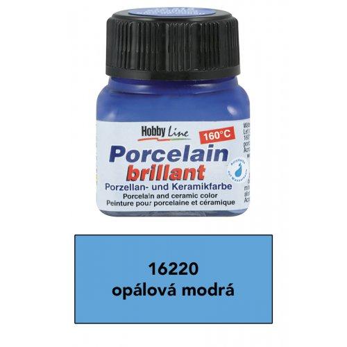 Barva na porcelán HOBBY LINE opálová modrá 20 ml