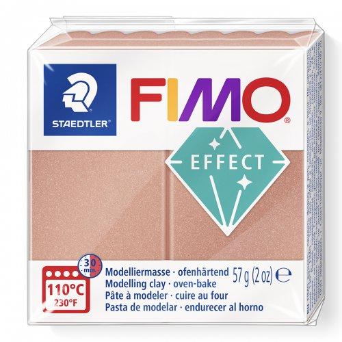 FIMO efekt 57g PERLEŤOVÁ RŮŽOVOZLATÁ