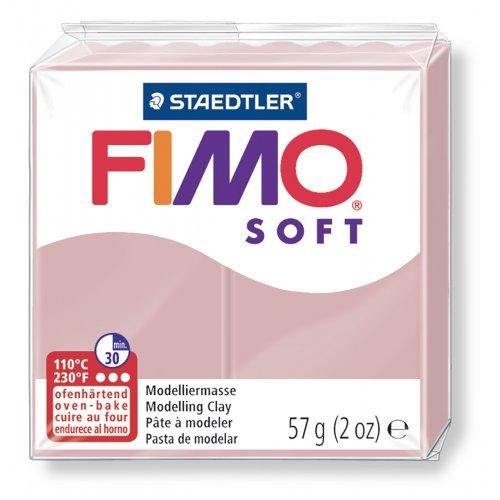 FIMO soft trend růžová květina 57g