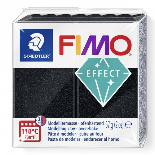 FIMO efekt černá perleťová 57g