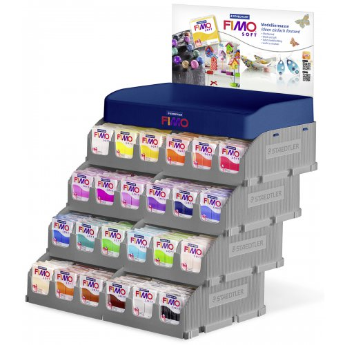 FIMO SOFT display 24 barev