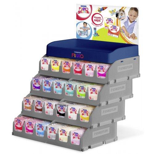 FIMO kids display pro 24 jedn. barev po 16 ks - design 2016