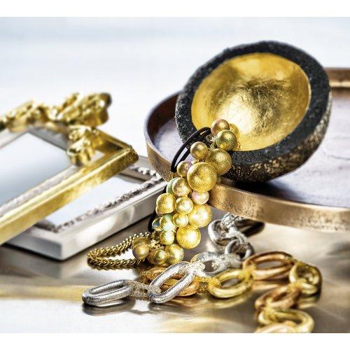 FIMO kovové plátky zlatý, 10 ks - 8781-image.jpg