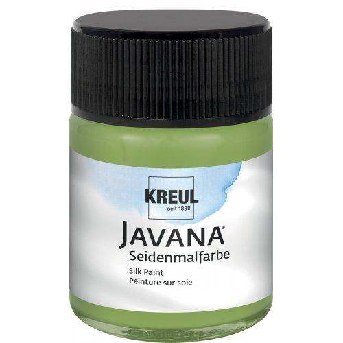 Barva na hedvábí JAVANA 50 ml olivová zelená