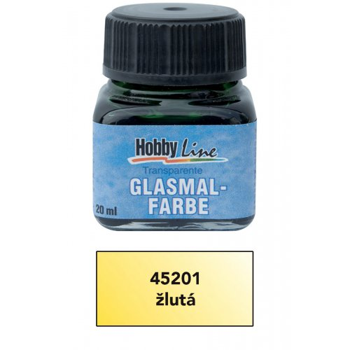 Sada Barva na sklo HOBBY LINE 20 ml 6 ks - CK45201.jpg