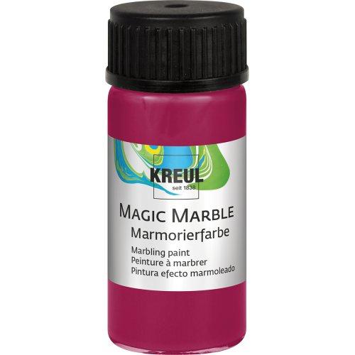 Mramorovací barva Magic Marble 20 ml rubínová