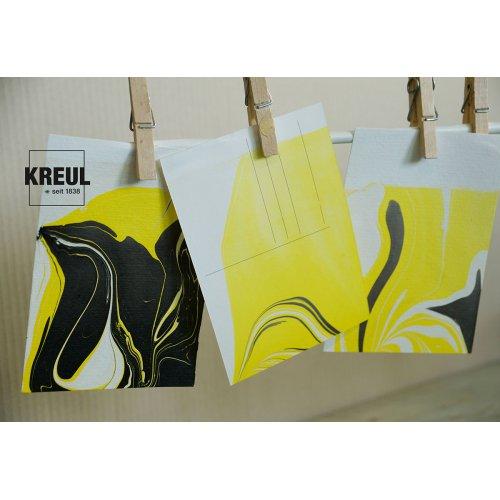 Mramorovací barva Magic Marble 20 ml neonová žlutá - 732_Magic_Marble_Marmorierfarbe_Postkarten.jpg