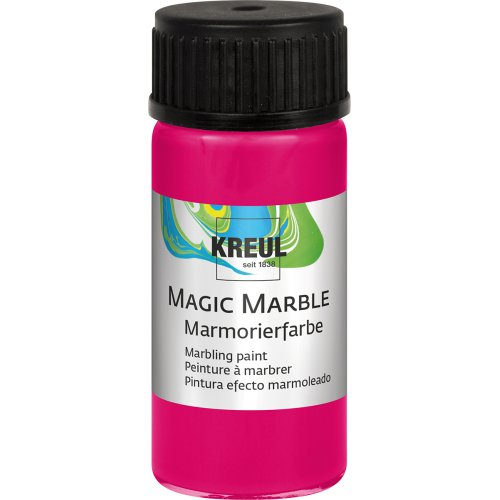 Mramorovací barva Magic Marble 20 ml neonová růžová