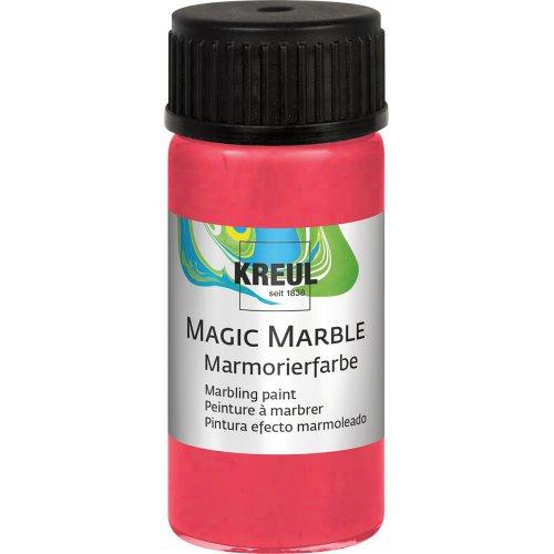 Mramorovací barva Magic Marble 20 ml metalická červená