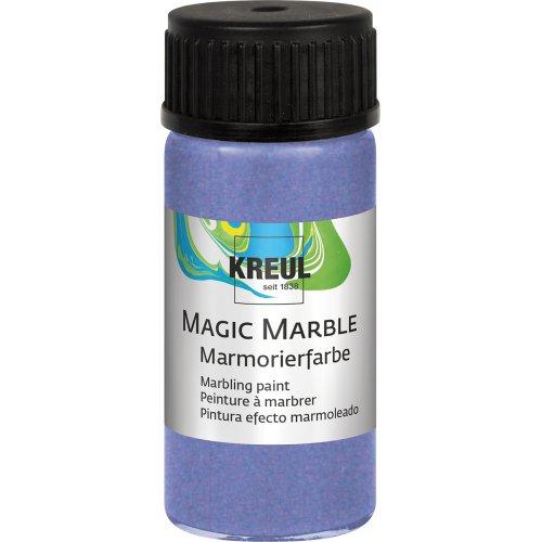 Mramorovací barva Magic Marble 20 ml metalická fialová