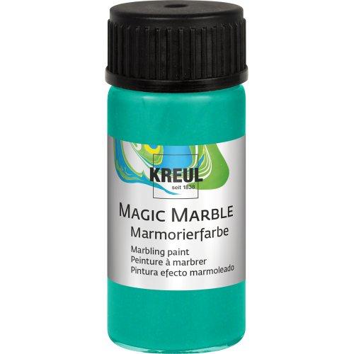 Mramorovací barva Magic Marble 20 ml metalická zelená