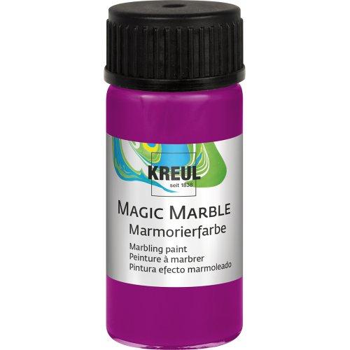 Mramorovací barva Magic Marble 20 ml purpurová