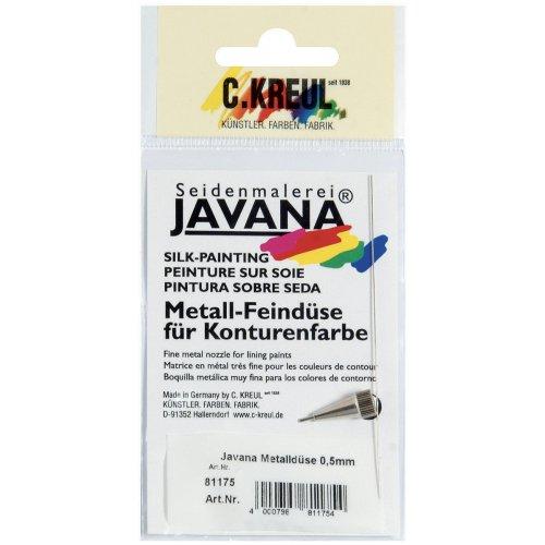 Kovový nástavec JAVANA vel. 5, průměr 0,5 mm