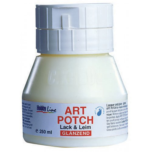 ART POTCH Lak & Lepidlo lesklý HOBBY LINE 250 ml