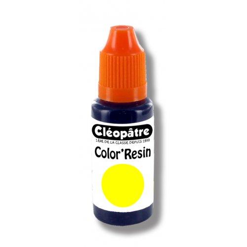 Barevná pryskyřice ŽLUTÁ - transparentní barvivo pro pryskyřice 15 ml