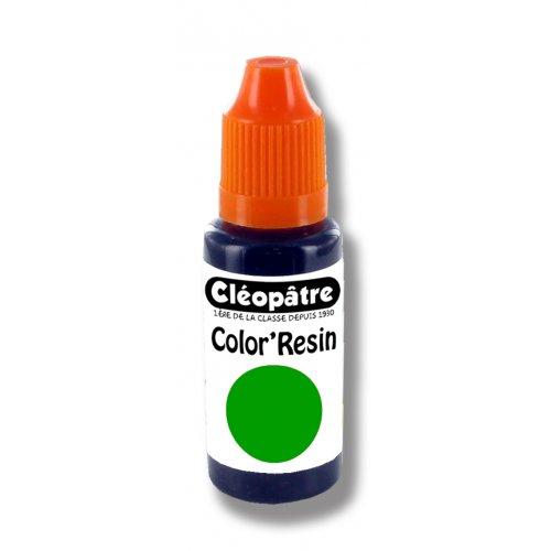 Barevná pryskyřice ZELENÁ - transp. barvivo pro pryskyřice 15 ml
