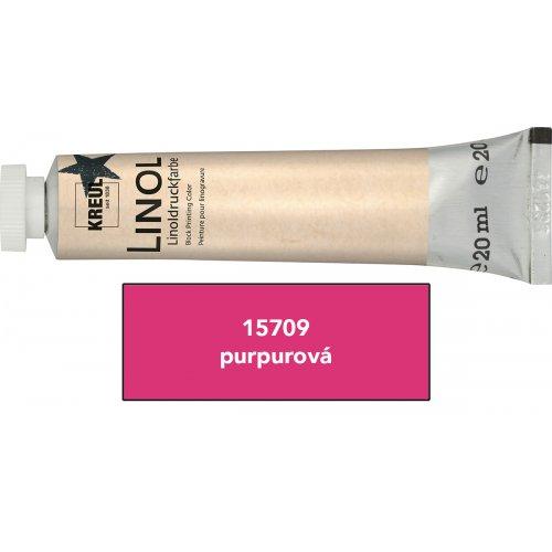 Linoryt barva v tubě 20 ml purpurová
