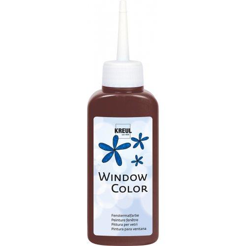 Barva na sklo WINDOW COLOR 80 ml tmavě hnědá