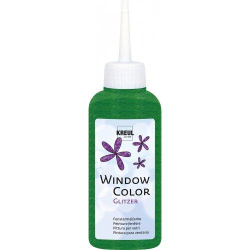 Barva na sklo WINDOW COLOR 80 ml třpytivá zelená
