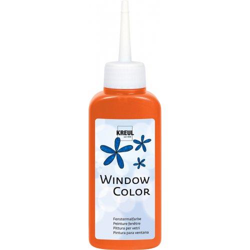 Barva na sklo WINDOW COLOR 80 ml oranžová