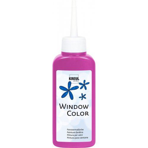 Barva na sklo WINDOW COLOR 80 ml tmavě růžová