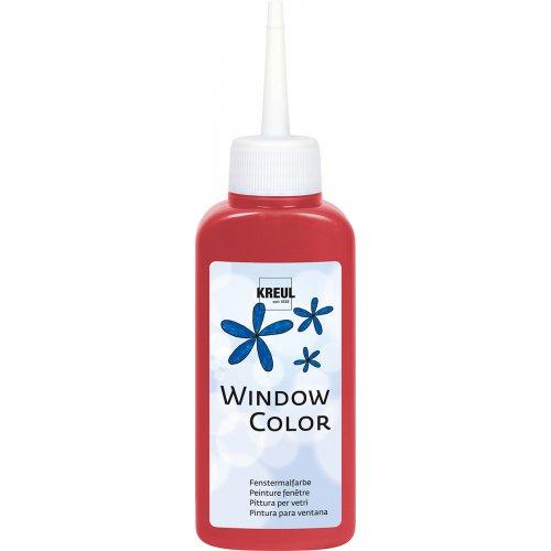 Barva na sklo WINDOW COLOR 80 ml tmavě červená