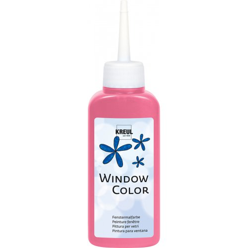 Barva na sklo WINDOW COLOR 80 ml růžová